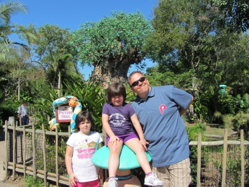 My crew in Animal Kingdom October 2011.