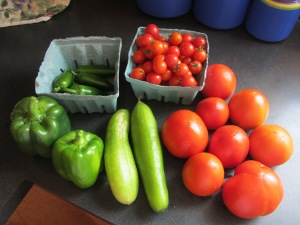 A harvest from last season