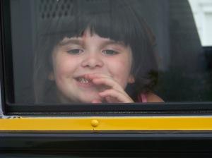 Megan's first day of Kindergarten 2009